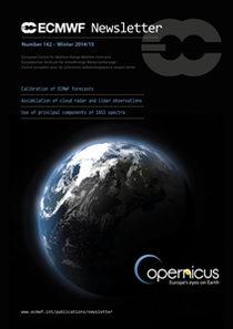 ECMWF Newsletter 142 Cover