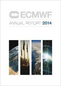 ECMWF Annual Report 2014 cover
