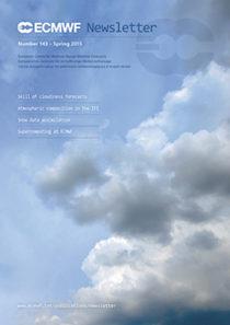 ECMWF Newsletter 143 Cover