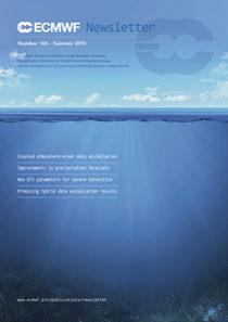 ECMWF Newsletter 144 Cover