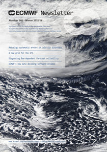 ECMWF Newsletter 146 Cover