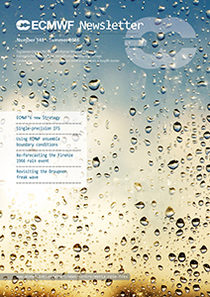 ECMWF Newsletter 148 Cover