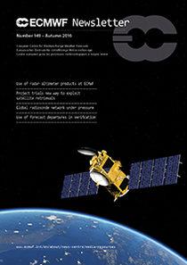 ECMWF Newsletter 149 Cover