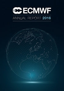 ECMWF Annual Report 2016 Cover
