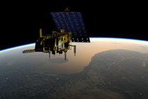 Artist's impression of Metop satellite in orbit