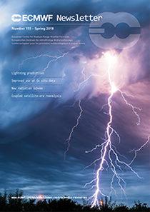 ECMWF Newsletter 155 cover