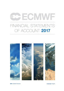 ECMWF Financial Statements of Account 2017 Cover