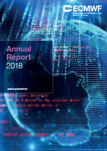 ECMWF Annual Report 2018 Cover thumbnail