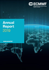 ECMWF Annual Report Cover