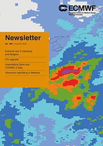 ECMWF Newsletter 169 cover