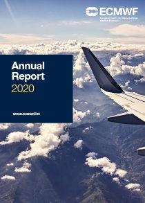 ECMWF Annual Report 2020 Cover thumbnail